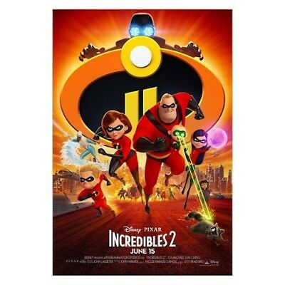 Incredibles 2 (DVD, 2018) New & Sealed comes with Slipcover Free Shipping!