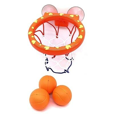 Toddler Bath Toy Tub Kids Basketball Hoop Bathtub Water Play Set for Kids Baby