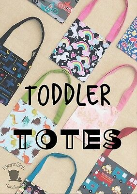 kids tote bag boys carry bag girls handbag toddler bag Toddler Tote Bag