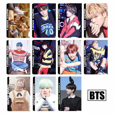 30PCS KPOP BTS Love Yourself Lomo Cards Jimin Bangtan Boys Photocard J-hope Suga