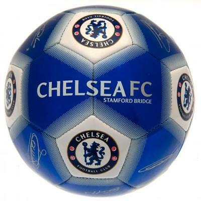 OFFICIAL CHELSEA FC SIGNATURE FOOTBALL ADULT SIZE 5 NEW  GIFT 2017//18