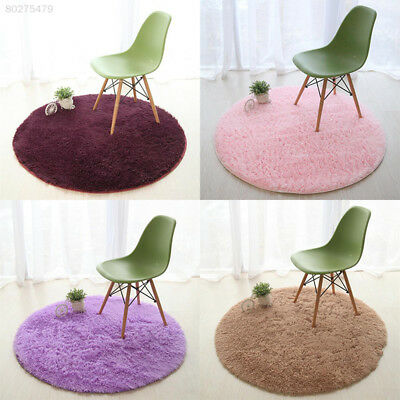 D562 Rugs Bedroom Room Stuffed Carpet Shaggy Area Rug Home Plush Round Floor Mat