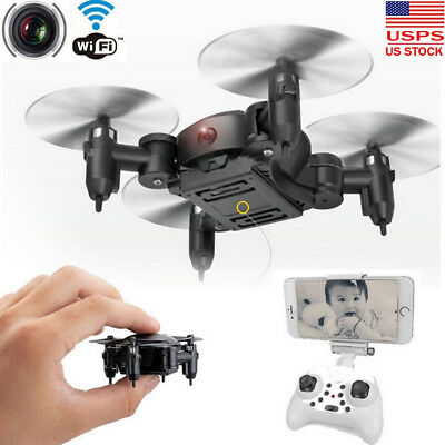 Nano Mini RC Quadcopter 2.4GHz 4CH 6-Axis Gyro 3D UFO Drone FPV WIFI w/ Camera