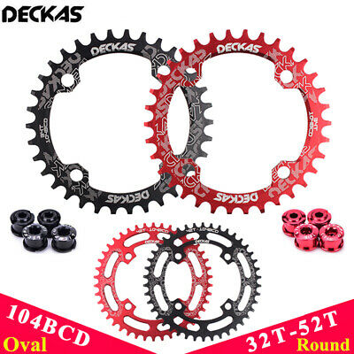 DECKAS 32//34//36//38 96S Narrow Wide MTB Bike Chainring SHIMANO M7//8//9000 Crankset