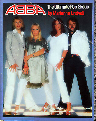 ABBA The Ultimate Pop Group - Marianne Lindvall 1977 - Poster Included