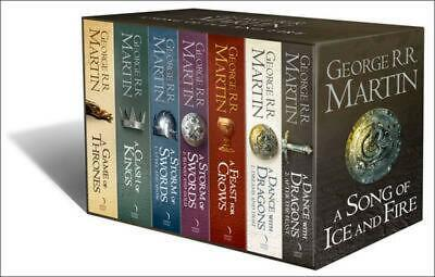 A Song of Ice and Fire B Format Boxed Set by George R R Martin [Other]