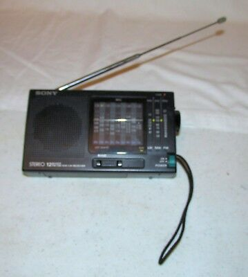 Sony ICF-SW10 12 Band FM/LW/MW/SW (1-9 Band) Radio Receiver Exc condition!