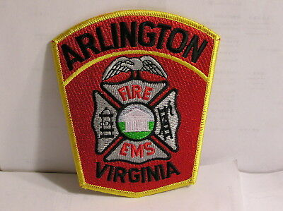 Arlington County Virginia Fire And Ems Department Patch
