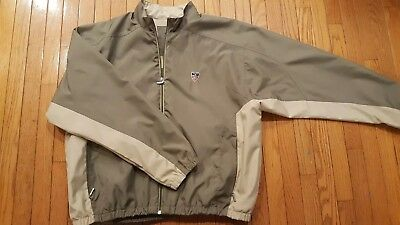 Disney Golf Mens Jacket Size 2XL XXL Gear for Sports Windbreaker Coat Brown