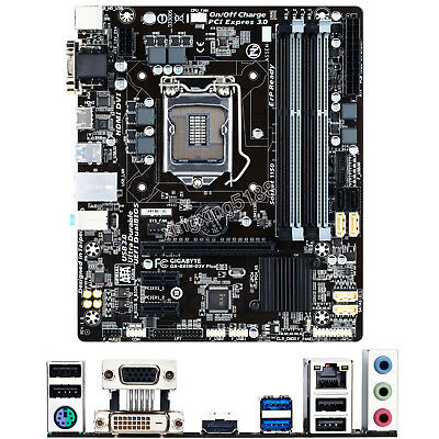 Gigabyte GA-B85M-D3V Plus for Intel Socket LGA 1150 MicroATX Motherboard DDR3