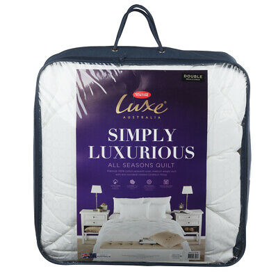 NEW Tontine Luxe Simply Luxurious All Season Quilt Double Bed