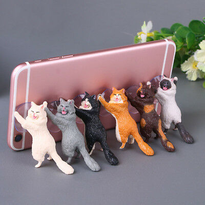 Cat Shaped Suction Cup Toothbrush Stand Holder HB-2880