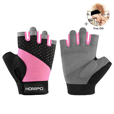 Women Ladies Gym Workout Weight Lifting Body Building Training Fitness Gloves