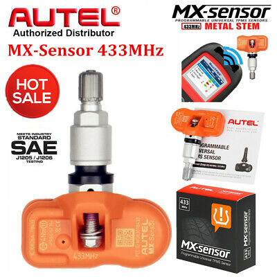 4*Autel TPMS Sensor 315MHz 433MHz 2 in 1 MX-Sensor for Tire Pressure Programming