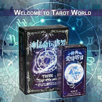 Tarot Cards Game Family Friends Outdoor Read Mythic Fate Divination Table K1