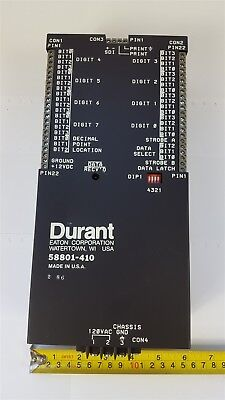 Durant 58801-410 Serial to Parallel Converter - New