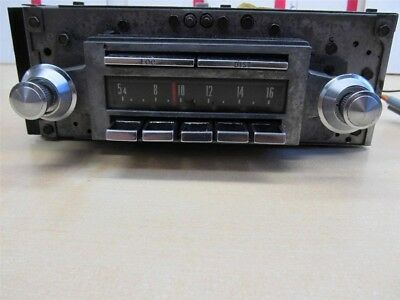 Town And Country Radio Assm W/ Foot Switch 1967-1968 Chrysler Imperial 68Ci1-638