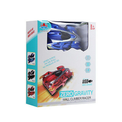 Wall Climbing Climber RC Racer Radio Remote Control Car Toy Xmas Gift For Kid MR