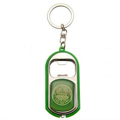 Celtic Fc Bottle Opener Keyrings Torch Light Key Ring Keychain New Gift Xmas