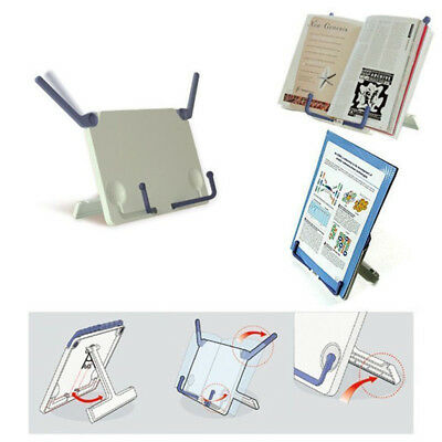 Music Sheet Stand Book Reading Stands Foldable Adjustable Holder Reading Book