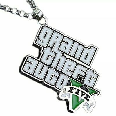 Auto 5 3 Gaming Halskette Grand Eur Theft Gta 49 V Merchandise AL3R5q4j