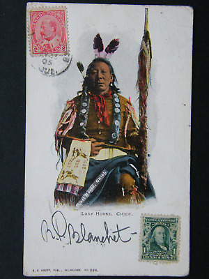 Last Horse Chief Oglala Sioux