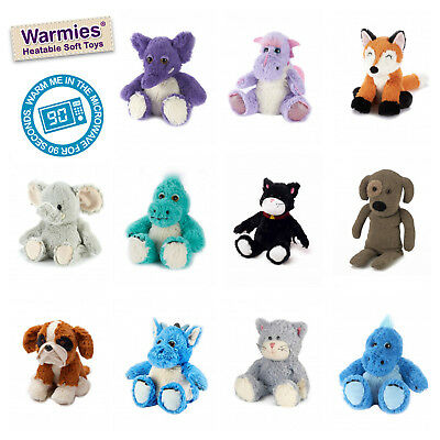Warmies Plush Soft Toy - Heatable - Microwave - Lavender Scented