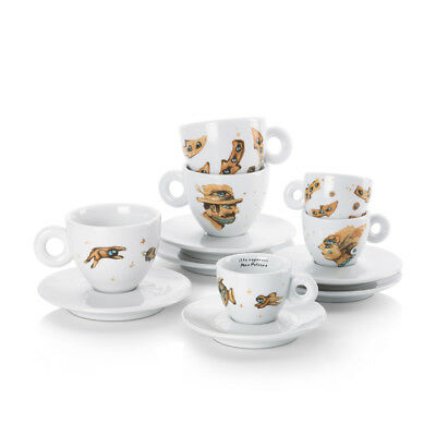 illy Art Collection 2018 Max Petrone Cappucinno Cup + Saucer IPA Limited Edition
