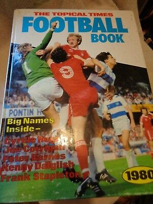The topical times football book annual 1980
