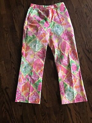 lilly pulitzer pants size 4