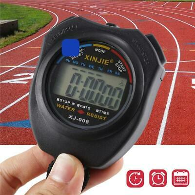 Handheld Electronic Stopwatch Digital Chronograph Sport Counter Timer Stop Watch