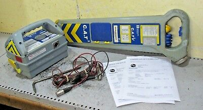 CAT 3v Cable avoidance tool & Genny 3 Detector scanner locator pipe fully calib