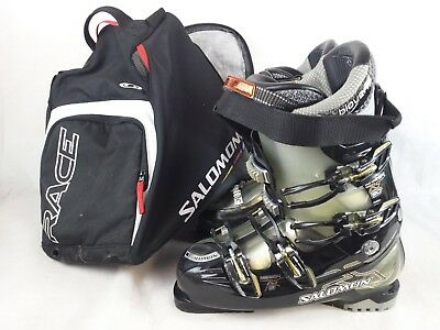 Men's Salomon Energyzer 90 Mission 8 ski boots & bag size UK 9.5 (28.5, 328 mm)