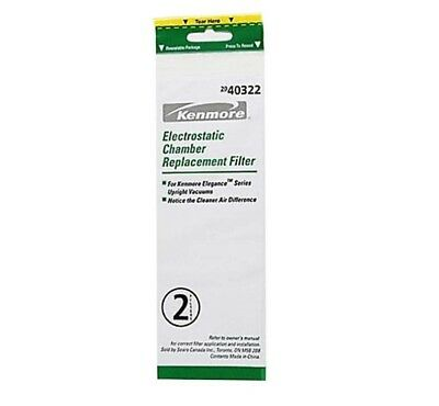 KenmoreElectrostatic Chamber 2 Replacement Filter Elegance Series Upright 40322