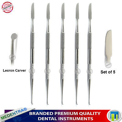 Lecron Carver Waxing & Modelling Knife Spatula Dental Laboratory Technicians Lab