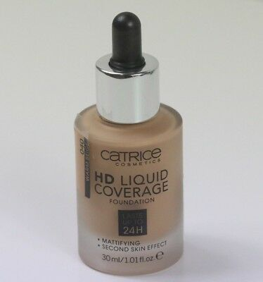 Catrice Hd Liquid Coverage #040 Swatched Only Once !!