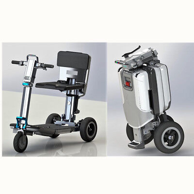 3 Wheel Electric Folding Mobility Scooter Compact Portable 3 Speed Mode NEW