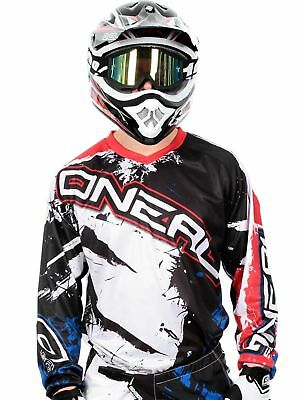 ONeal Element racewear Jersey Kids Youth MX Motocross Enduro Dirtbike Quad