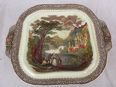 Royal Staffordshire Pottery England Jenny Lind 1795 Large serving bowl