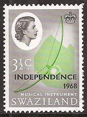 Swaziland 1968 Independence 3½c inverted watermark