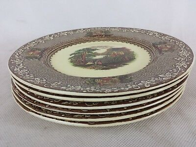 Royal Staffordshire Pottery England Jenny Lind 1795 [6] side plates