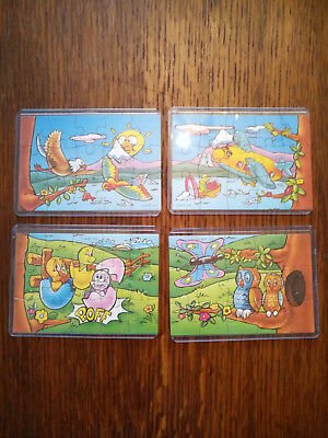 kinder puzzle spielzeug k96-137-138-139-140 full bpz top rare