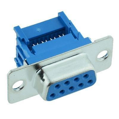 9-Way IDC Female D Socket Connector