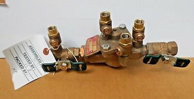 "Watts 1/2"" 009QT Z5 Bronze Reduced Pressure Zone Valve Assembly"