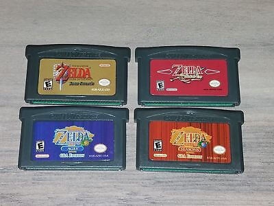 Legend of Zelda: The Minish cap Link the past Oracle of Ages Seasons GBA a F01