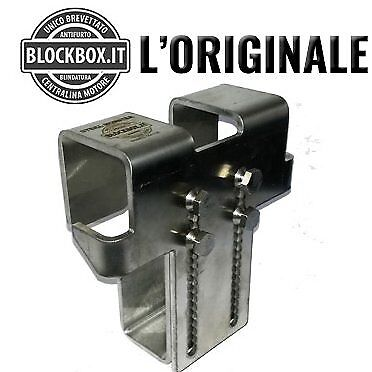 Block Box Antifurto Protezione Centralina Auto Steel Monster U01 Psa Block Box