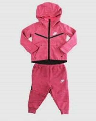 Infant Kids Nike Therma 2 Winter Pink Full Tracksuit  66B400 A3D