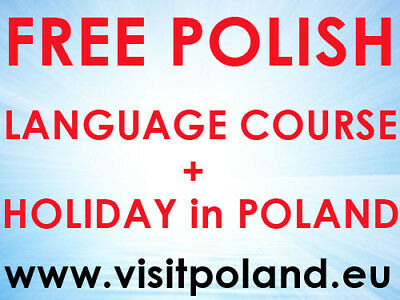 FREE Polish Language Course+7 DAY HOLIDAY+ALL Inclusive +Delicious Polish Food
