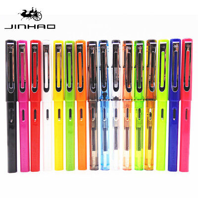 Genuine Jinhao 599A Fountain Pen 0.5mm Nib office student Calligraphy Writting