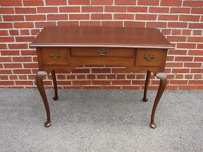 Virginia Craftsman Mahogany Vanity Desk Henkel Harris Craftique Quality